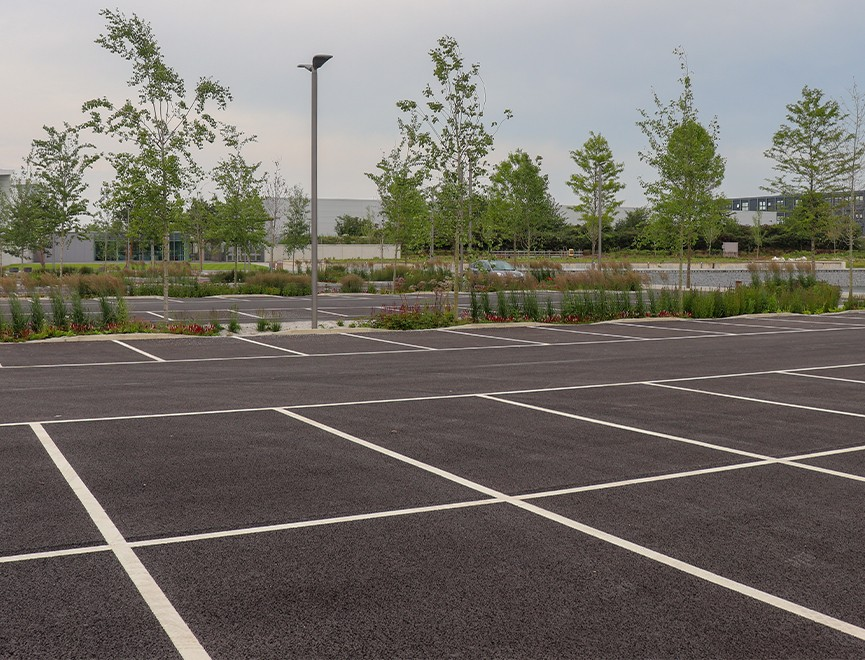 Meridian Car Park Surfacing