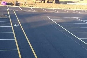 car park surfacing in Meridian