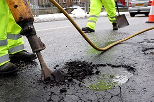pothole repairs in Coventry
