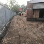 preparing the car park surface for tarmac