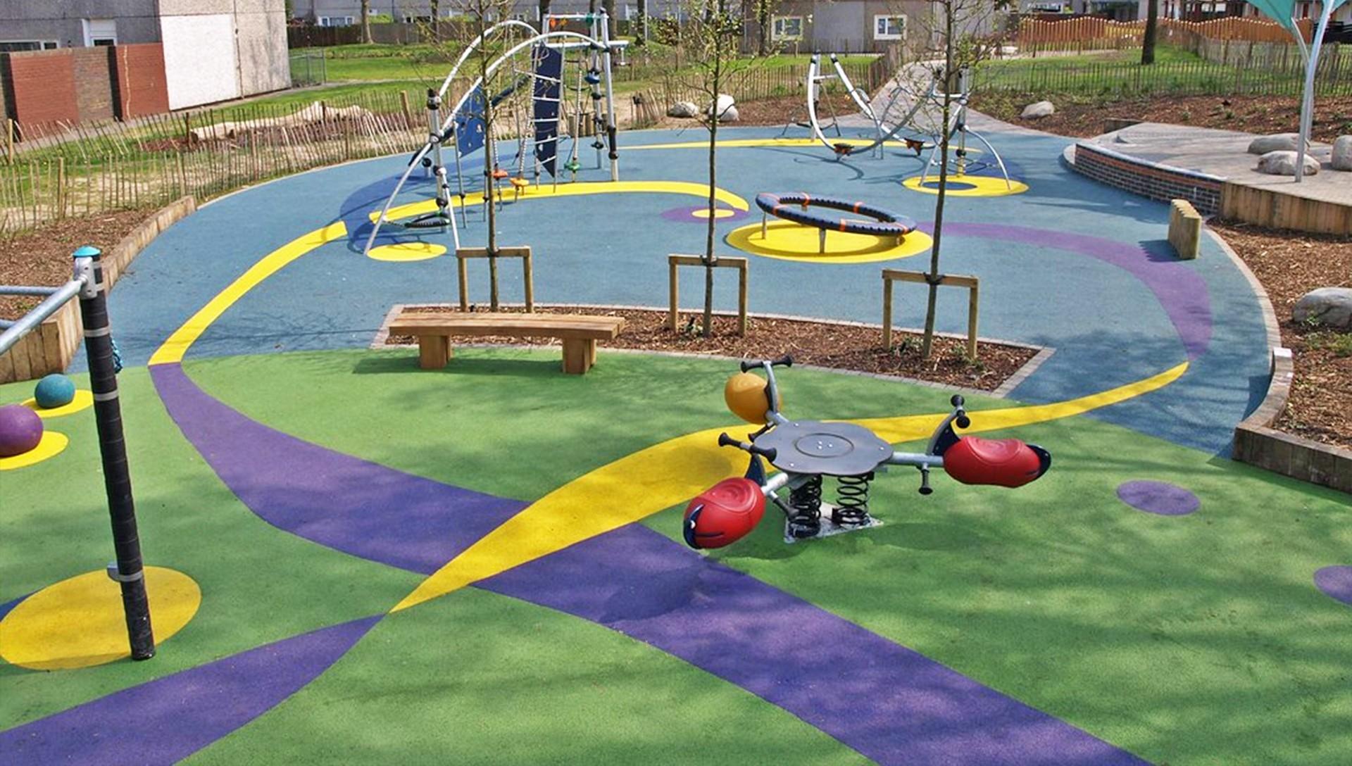 School Playgrounds in Little Aston