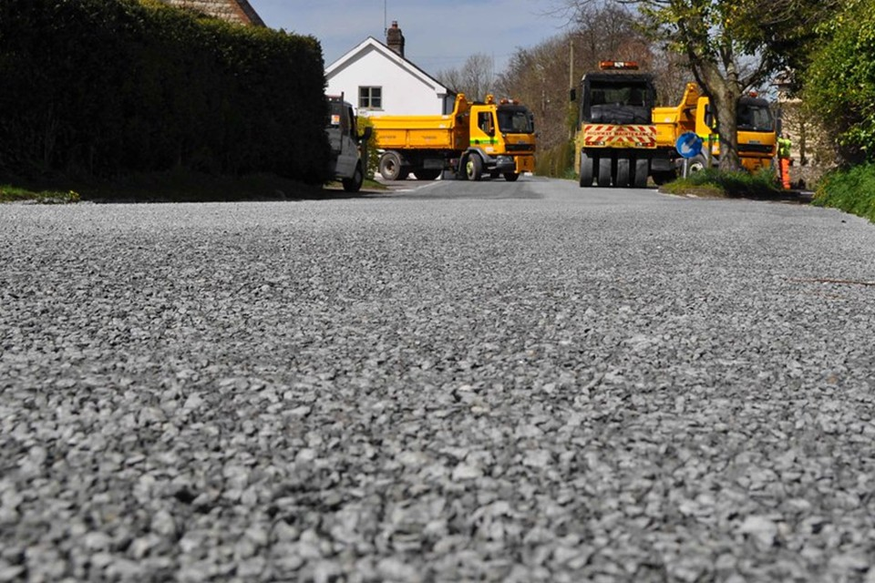 road surface dressing contractors in Holloway Head